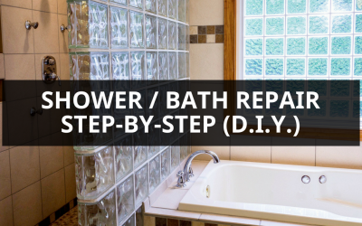 How To Repair a Shower / Bath (Step-by-Step)